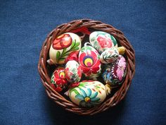 Hungarian Easter eggs from Heike's table