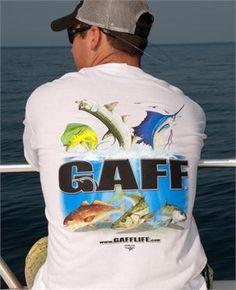 gaff life shirts | Mens short sleeve GAFF T-shirt (White) - GAFF Life Store