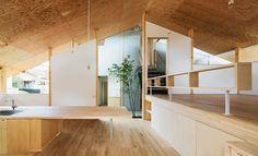 ilia estudio interiorismo: Diseño, madera y volúmenes en esta vivienda de Kyoto
