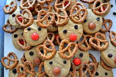 These went down extremely well with every child (and adult!) we've encountered in the last week. I think we'll make another batch tomorrow to see us through to Christmas… They are…