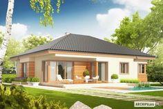 Projekty domów ARCHIPELAG - Eris G2 (wersja C)