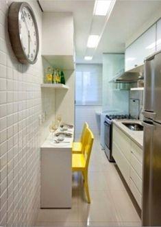 Cozinha simples porém com charme @decorandocomclasse