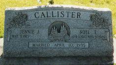 William Jefferies family headstones