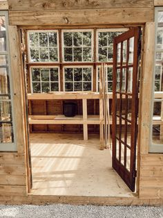How I Built my Dream Greenhouse - Arrows & Twine Diy Greenhouse Plans, Outdoor Greenhouse, Backyard Greenhouse, Backyard Sheds, Backyard Landscaping, Farmhouse Greenhouses, Farmhouse Garden, Modern Farmhouse, Farmhouse Style