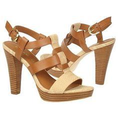 Women's Franco Sarto Betsy Caramel Python Leath Shoes.com