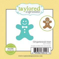 Little Bits - Gingerbread Man