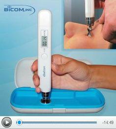 Transpalpebral Tonometry through eyelid with Diaton tonometer http://www.tonometerDiaton.com #tonometer