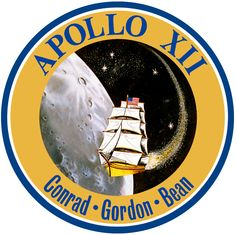 Apollo 12 Patch by GeneralTate on deviantART