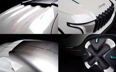 2030 Jeep Cordato Autonomous Designed by Jinwon Kim Hong-ik University, Seoul, South Korea Jeep Cherokee Srt8, Jeep Concept, Jeep Brand, Institute Of Design, Scale Models, South Korea, Seoul, University, Future