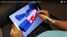 Check out this great app for the #iPadPro - Shapr3d https://goo.gl/oTu0Av @shapr3d