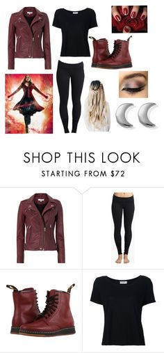 """""""Junior Skit: Marvel, X-Men, Scarlet Witch"""" by ikebukuro ❤ liked on Polyvore featuring IRO, Beyond Yoga, Dr. Martens, Frame, ChloBo, tumblr, marvel and scarletwitch"""