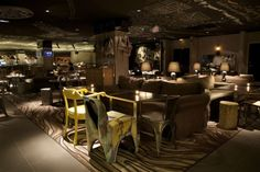 """Our favorite """"Off the Beaten Path"""" hotel in Paris. Mama Shelter Paris by Philippe Starck Lounge Design, Bar Design, Hotel Paris, Paris Hotels, Paris Paris, Paris City, Paris France, Philippe Starck, Mama Shelter Paris"""