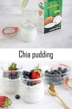 Chia seeds are very healthy, full of omega-3 fatty acids, rich in antioxidants, and they provide fiber, iron, and calcium. Do you need another reason to have them for breakfast? I didn't think so ;) #Renana'sKitchen #kitchen #recipe #blog #chia #pudding #vegan #chiapudding