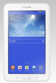 The Samsung Galaxy Tab 3 Lite.