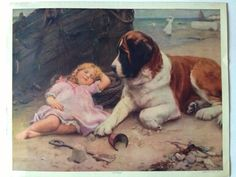 """""""On Guard"""" -- by Arthur John Elsley (1860-1952, English) Facebook source for this image is now gone."""