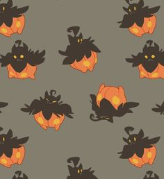 art pokemon heres all of them pumpkaboo i couldn