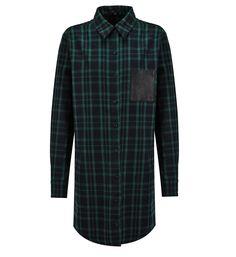 Chemise Grungy Maje en vert pour femme - Galeries Lafayette