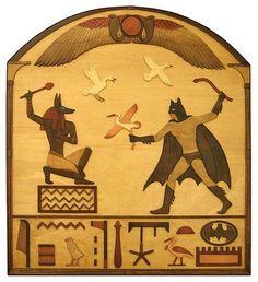 Anubis vs Batman