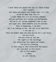 Charlie's last letter ❤ Perk's of Being a Wallflower ~One of my favorite movies ever!