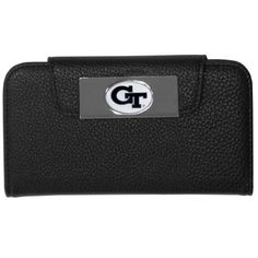 """Checkout our #LicensedGear products FREE SHIPPING + 10% OFF Coupon Code """"Official"""" Georgia Tech Yellow Jackets iPhone 5/5S Wallet Case - Officially licensed College product Fits iPhone 5/5S phones Black case with magnetic closure, will not damage cards or phone Perfect simple way to combine your phone and wallet Georgia Tech Yellow Jackets metal logo - Price: $16.00. Buy now at https://officiallylicensedgear.com/georgia-tech-yellow-jackets-iphone-5-5s-wallet-case-cwci44"""