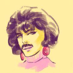 freddie mercury All Hail the Bulsara Bulge Queen Art, I Am A Queen, Save The Queen, Queen Freddie Mercury, Great Bands, Cool Bands, Queen Banda, Fred Mercury, Britney Spears