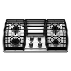 KitchenAid�Architect II 30-in 4-Burner Gas Cooktop (Stainless)