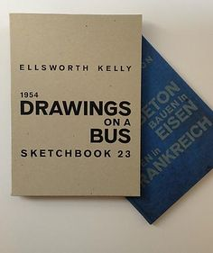 Books and Posters - Ellsworth Kelly - Matthew Marks Gallery