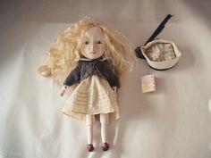 Lucia,  Art doll by Paola Zakimi