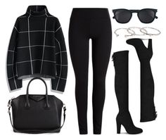 """Style #11386"" by vany-alvarado ❤ liked on Polyvore featuring Chicwish, Givenchy, Yves Saint Laurent and Gorjana"