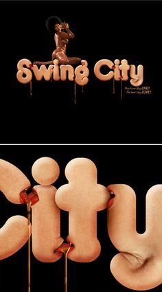 Swing City Typography Example