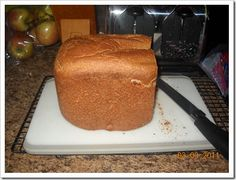 Best Ever Whole Wheat Bread machine recipe (uses coconut oil instead of butter & real milk instead of dry)