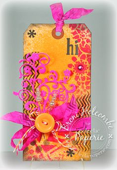 Eclectic Paperie: Wild & Crazy Hi Tag!