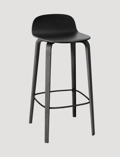 Visu - Modern Scandinavian Design Bar Stool by Muuto - Muuto