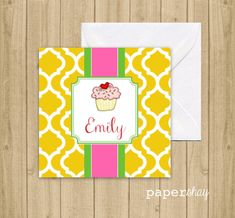 Enclosure gift cards gift tags stickers personalized gift enclosure gift cards gift tags stickers personalized gift enclosure cards monogrammed cupcake negle Choice Image