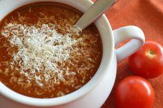 delightful pizza soup