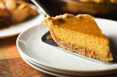 Brandied Pumpkin and Chestnut Pie by Melissa Clark