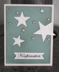 Inspiration til konfirmationskort