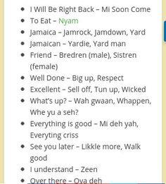 Jamaican Patwa, Jamaican Quotes, Jamaican Slang Words, Jamaica Girls, Jamaica Culture, Bob Marley Art, Louisiana Creole, Jamaica Wedding