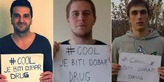 Bh. rukometni reprezentativci Nikola Prce, Dejan Malinović i Ivan Karačić, u okviru kampanje prevencije vršnjačkog nasilja, posjetili su u utorak Cent...