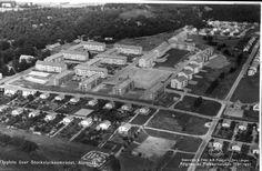 Alingsås Stockslyckeområdet 1957