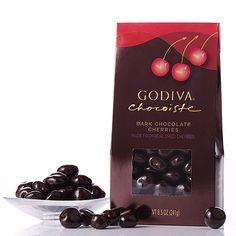 Godiva Dark Chocolate Cherries $15