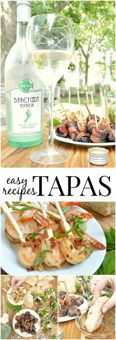 Tapas and Barefoot Refresh are the perfect pairing for your end of summer recipes! As Spritzer Season comes to an end these yummy appetizers are quick and easy. AD Content for 21+