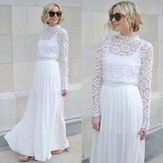 New obsession= white dresses