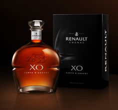 New XO Carte d'Argent Cognac Renault Design by QSLD