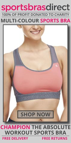 Get drier, cooler comfort in this medium impact, wirefree, pullover sports bra featuring a racer back and compressive fit. The Absolute Workout Multi-Colour Sports Bra by Champion does it all — delivers drier, cooler comfort, plus a compressive fit for support. Shop Now! #bra #sportsbra #maternity #multicolourbra #multicoloursportsbra