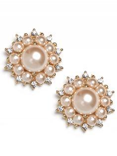 classic pearl studs