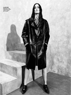 """Brands Collection"" Vogue Russia, Aug 2013. Model: Patrycja Gardygajilo. Lanvin."