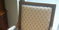 Fruitwood Upholstered Side Chairs