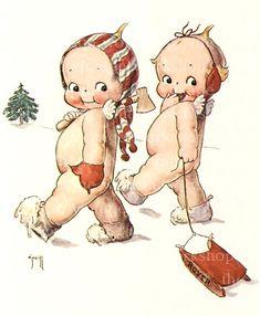 Christmas Kewpies