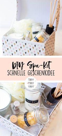 DIY Spa-Kit / Wellness / Ein tolles Sleepover-Kit für die nächste Übernachtungsparty mit deiner besten Freundin. Was in der Box nicht fehlen darf, findest du hier!